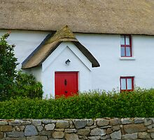 The Irish Thatched Cottage by Fara