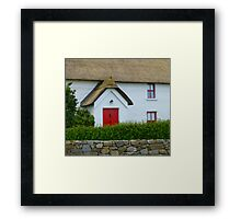 The Irish Thatched Cottage Framed Print