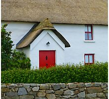 The Irish Thatched Cottage Photographic Print