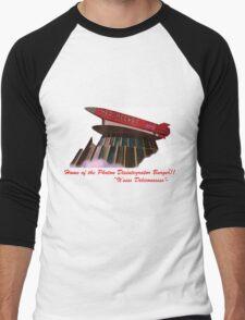 red rocket drive in Men's Baseball ¾ T-Shirt
