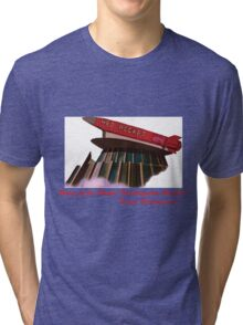 red rocket drive in Tri-blend T-Shirt