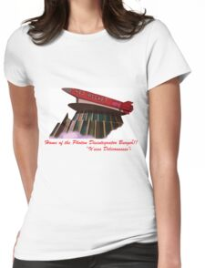 red rocket drive in Womens Fitted T-Shirt