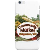 Community Market iPhone Case/Skin