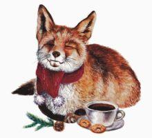 Coffee Fox Kids Tee