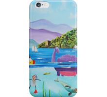 Th Loch Ness monster iPhone Case/Skin
