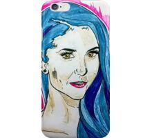a nina dobrev drawing iPhone Case/Skin