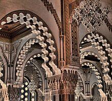 Morocco. Casablanca. Hassan II Mosque. Interior. by vadim19
