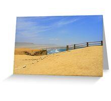 Paracas gazebo Greeting Card