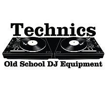 Technics Black by felinson