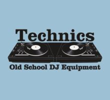 Technics Black Kids Clothes