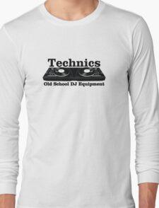 Technics Black Long Sleeve T-Shirt