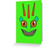 Green Murloc Greeting Card