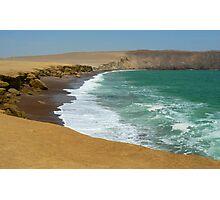 Paracas coast Photographic Print