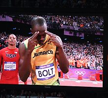 Gold on his mind - Usain Bolt by dsimon