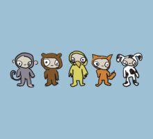 animal costumes One Piece - Short Sleeve