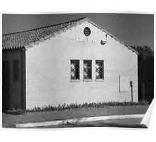 Abilene, Kansas - Railroad Station Poster