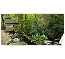 roaring fork tub mill Poster