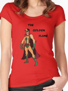 The Golden Flame Women's Fitted Scoop T-Shirt