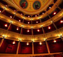 Classical theatre in Syros island by Antonis Lemonakis