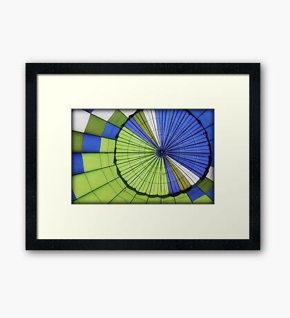 ~ inflated target ~  Framed Print