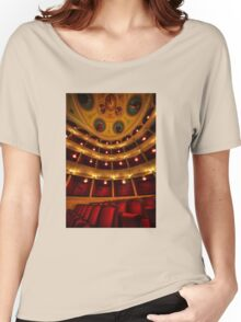 Classical theatre in Syros island Women's Relaxed Fit T-Shirt
