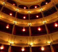Classical theatre in Syros island Sticker