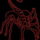 Facehugger for iphone by Raymond Doyle