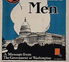 4 minute men a message from the government at Washington Committee on Public Information by wetdryvac
