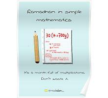Ramadhan in Simple Mathematics Poster