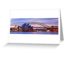 Classic Sydney, New South Wales, Australia Greeting Card
