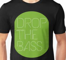Drop The Bass (geometric) neon Unisex T-Shirt