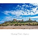 Bamburgh Castle by Jacinthe Brault