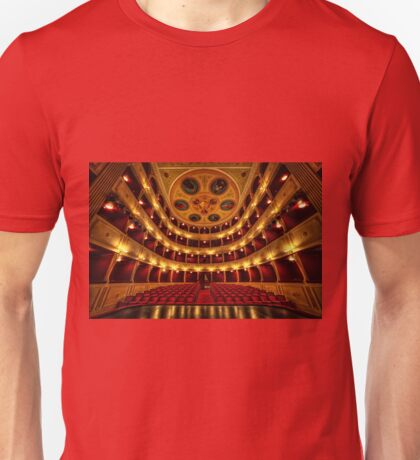 Classical theatre in Syros  Unisex T-Shirt