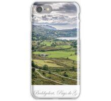 Beddgelert Countryside iPhone Case/Skin