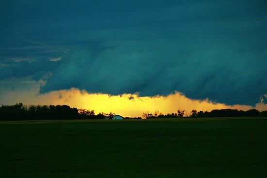 Storm on the Prairies by Laura-Lise Wong