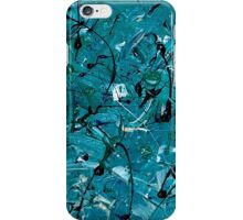 Green Chaos iPhone Case/Skin