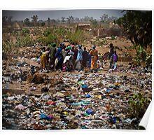 Life Amid the Trash Poster