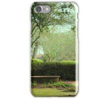 The Beautiful Landscape Of Oak Alley Plantation, Louisiana iPhone Case/Skin