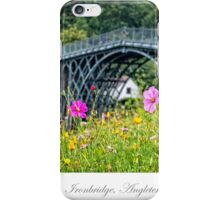 The Iron Bridge of Ironbridge iPhone Case/Skin
