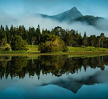Reflections of Mt Warning by Tony White