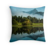 Reflections of Mt Warning Throw Pillow