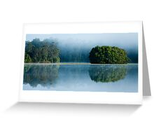Reflections in Clarrie Hall Dam Greeting Card