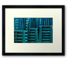 Clustered Framed Print