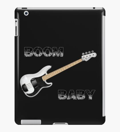 Boom Bass iPad Case/Skin
