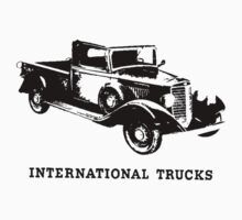 International Half Ton Truck 1936 by garts