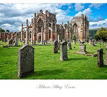 Melrose Abbey by Jacinthe Brault