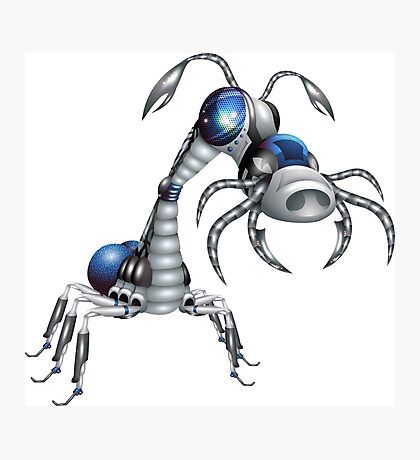 Robot-insect Photographic Print