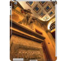 Statue of God Apollo iPad Case/Skin
