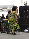 Judy Mowatt Dances to The Reggae Beat by Sandra Gray