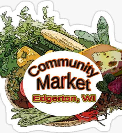 Community Market Sticker